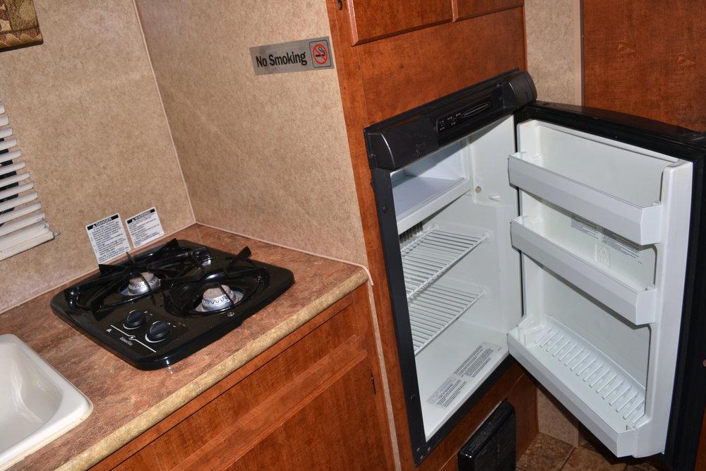 Camper Rental Aljo Kitchen