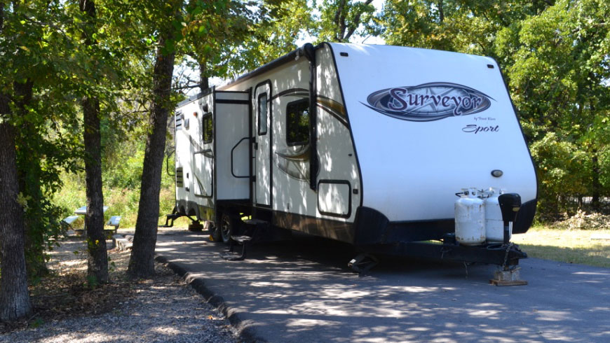 Surveyor Camper Rental Dallas TX