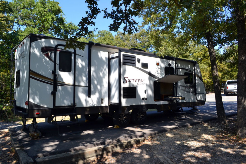 Surveyor RV Camper Rental North Texas