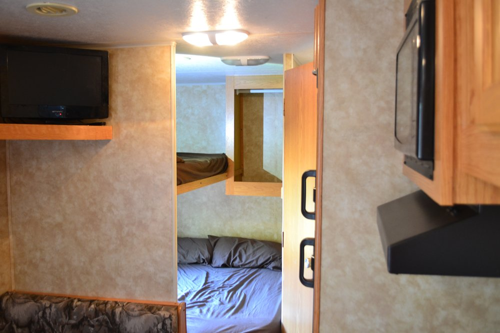 Coachman Rental Texas Interior