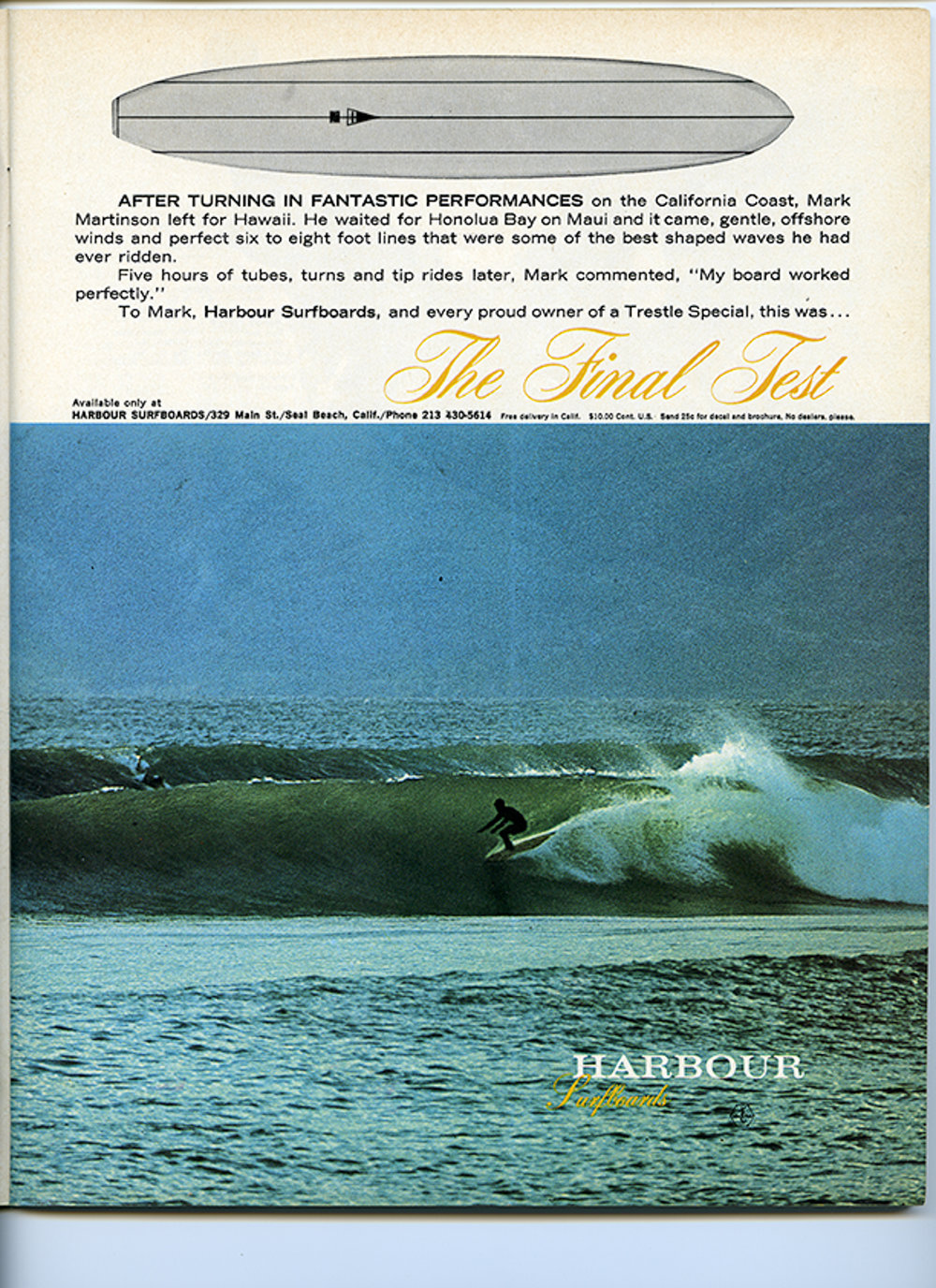 SURFER MAG 1966 JULY VOL7