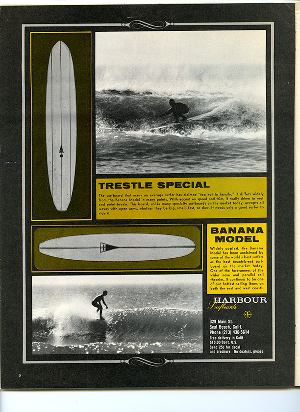SURFER MAG 1966 MARCH VOL7