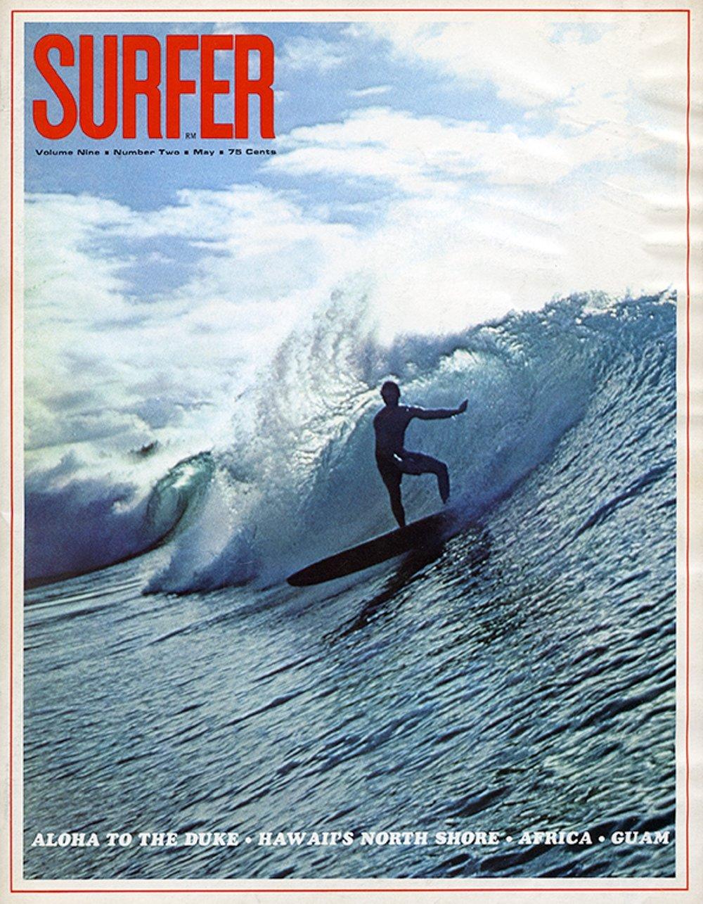 SURFER MAG 1968 - YURI FARRANT