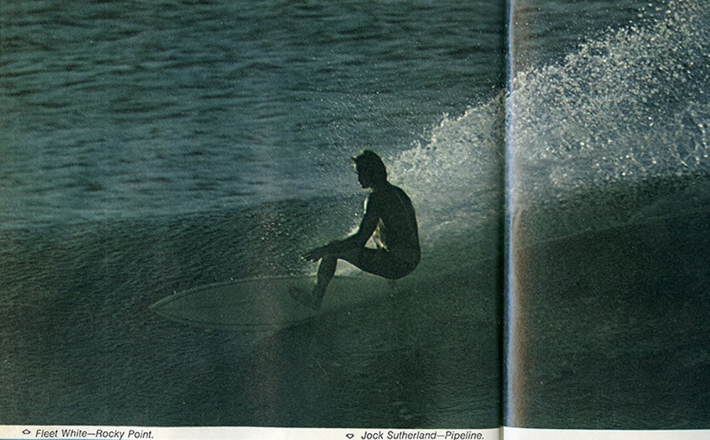 SURFER MAG 1970 MARCH CENTER SPREAD