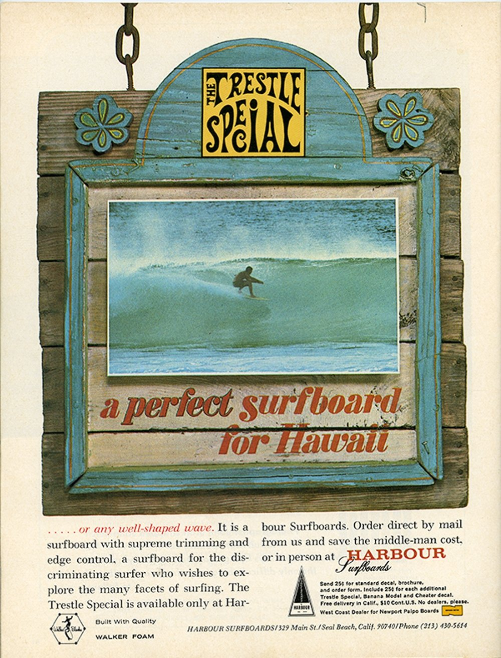 SURFER MAG 1967 MARCH VOL8