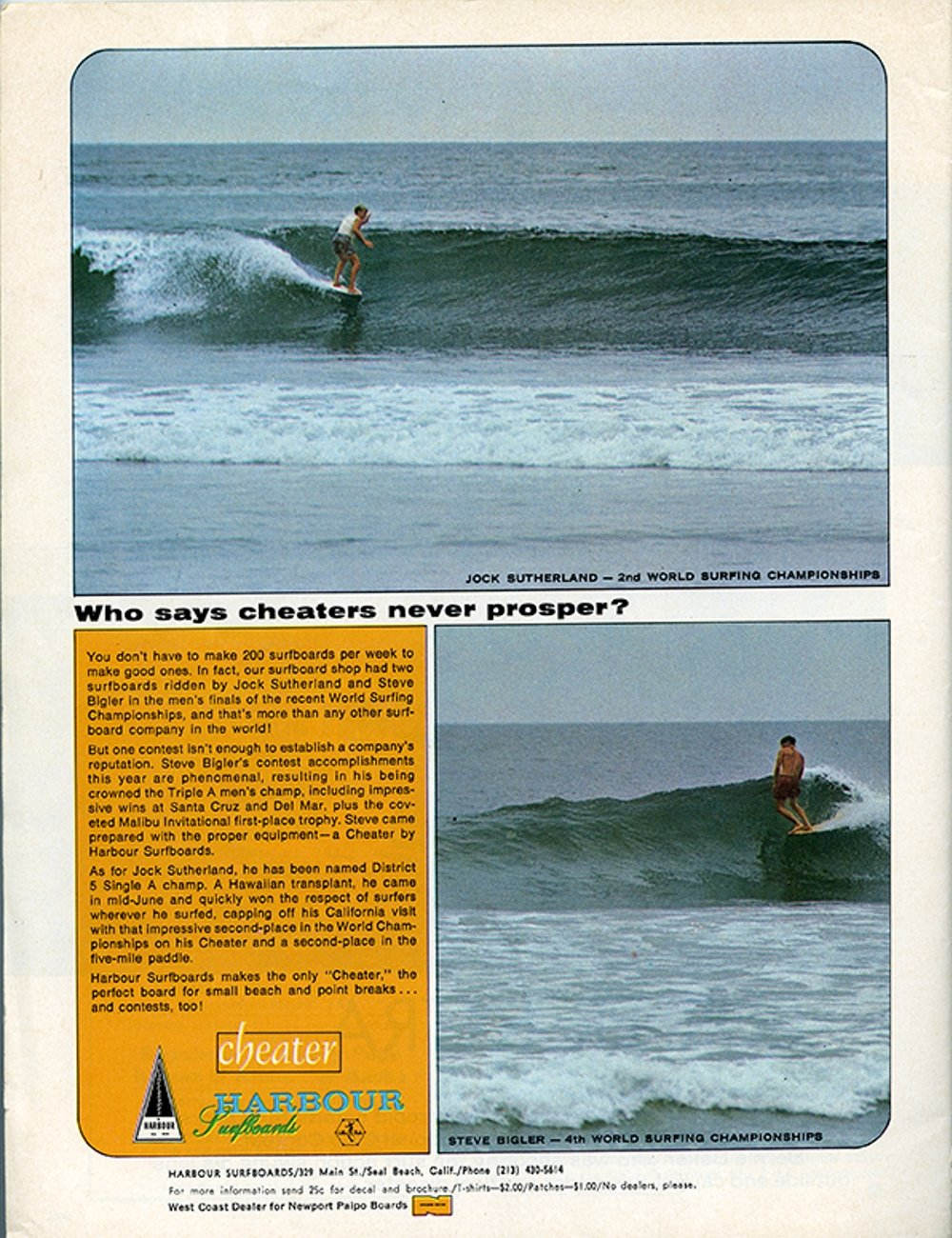 SURFER MAG 1966 JAN VOL7