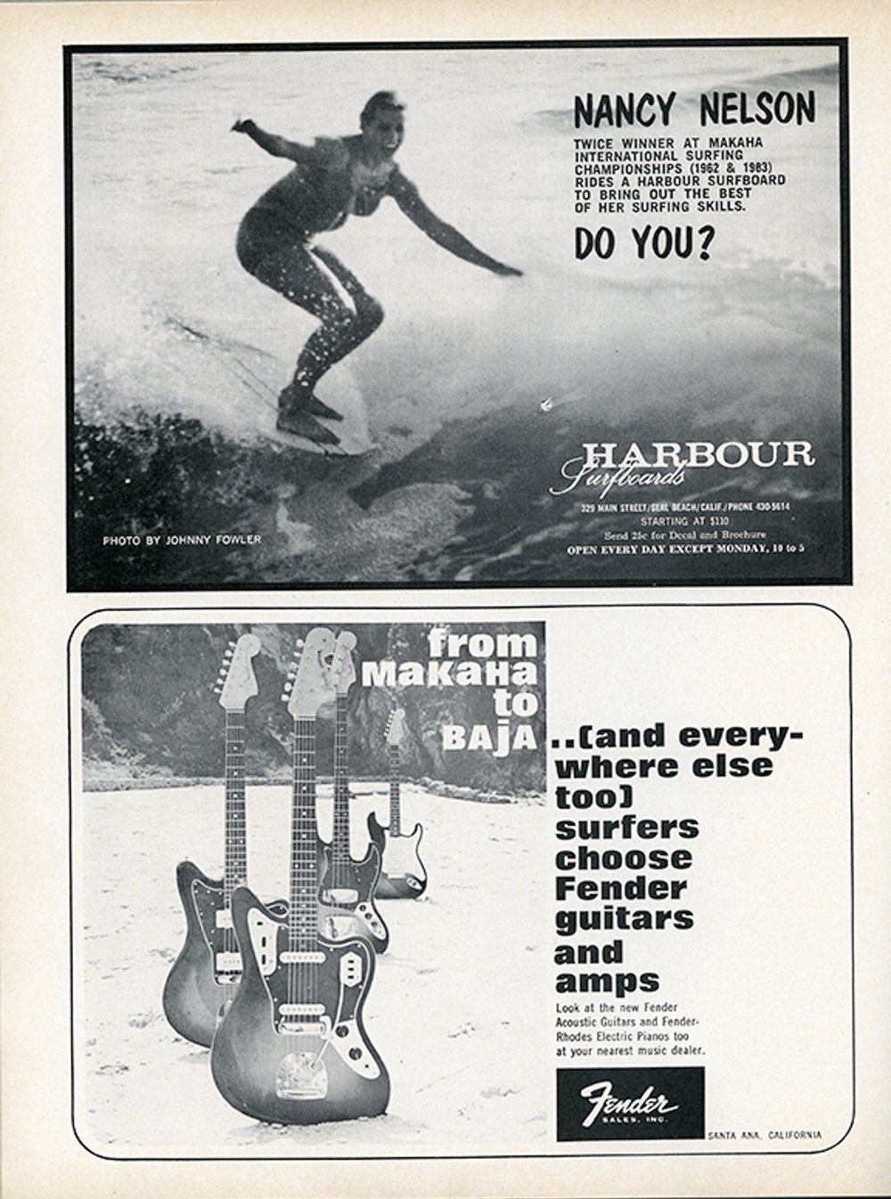 SURFER MAG 1964 APRIL-MAY VOL5