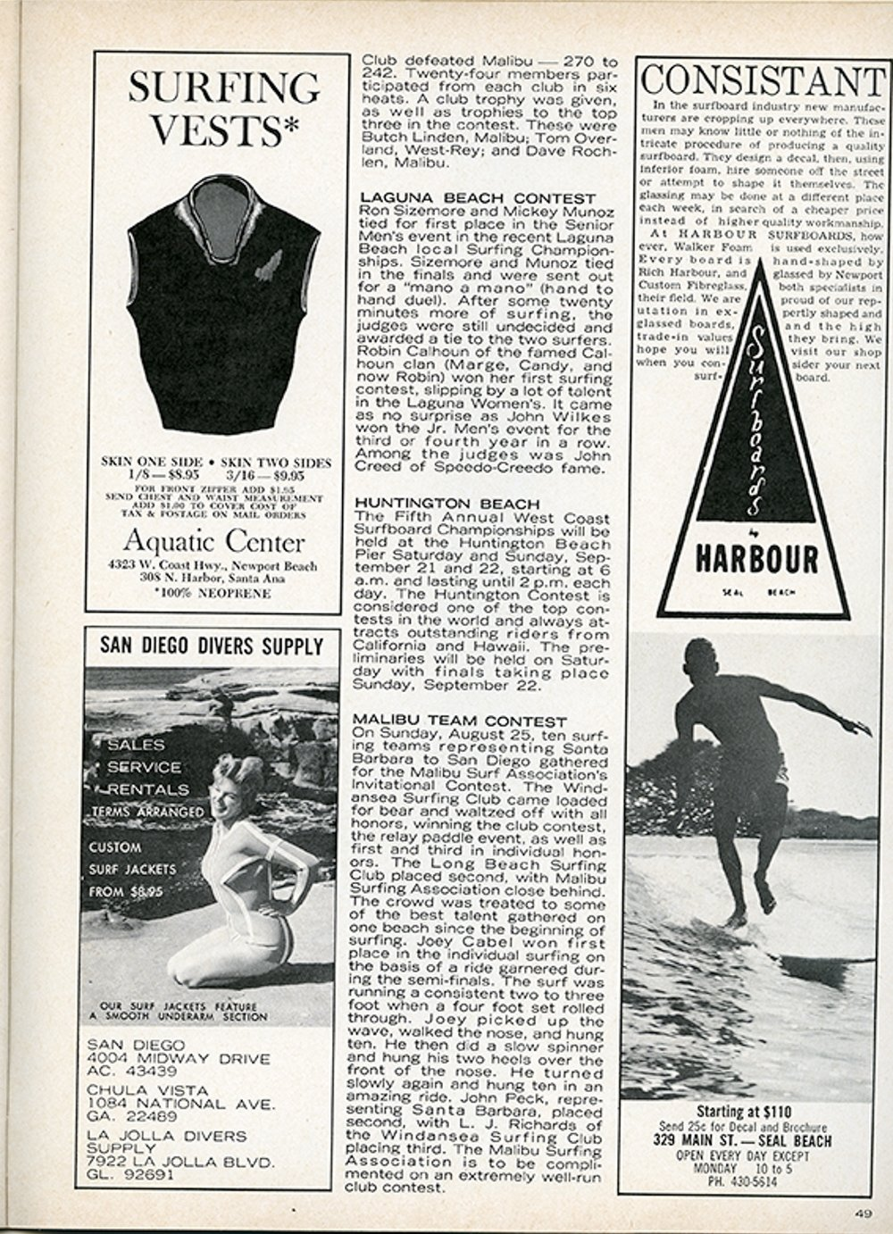 SURFER MAG 1963 OCT-NOV VOL4