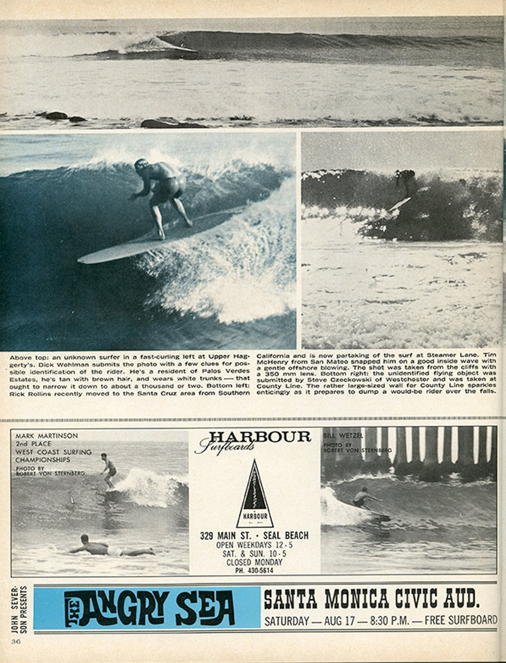 SURFER MAG 1963 AUG-SEPT VOL4
