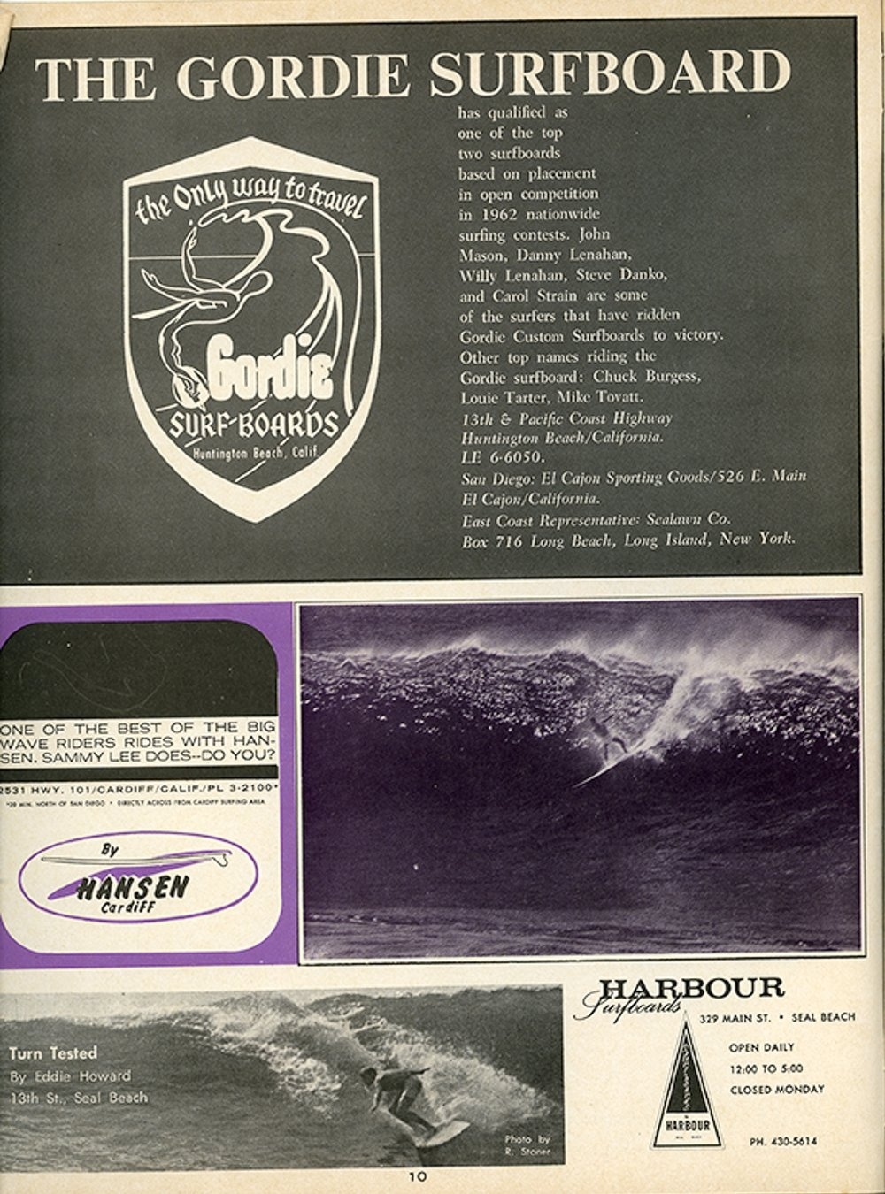 SURFER MAG 1963  APRIL-MAY VOL4