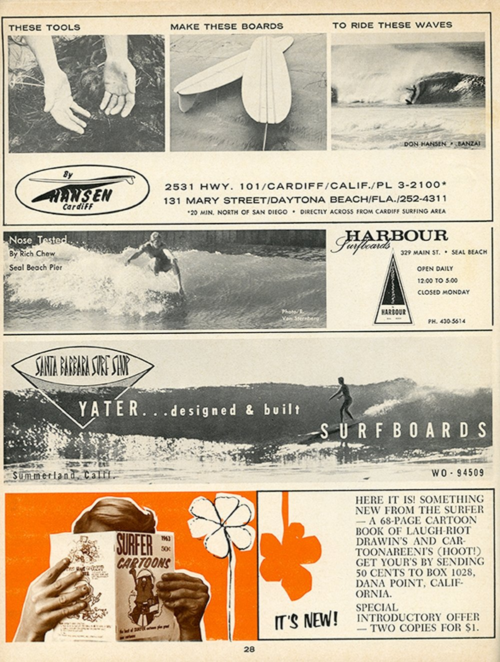 SURFER MAG 1963 FEB-MAR VOL4
