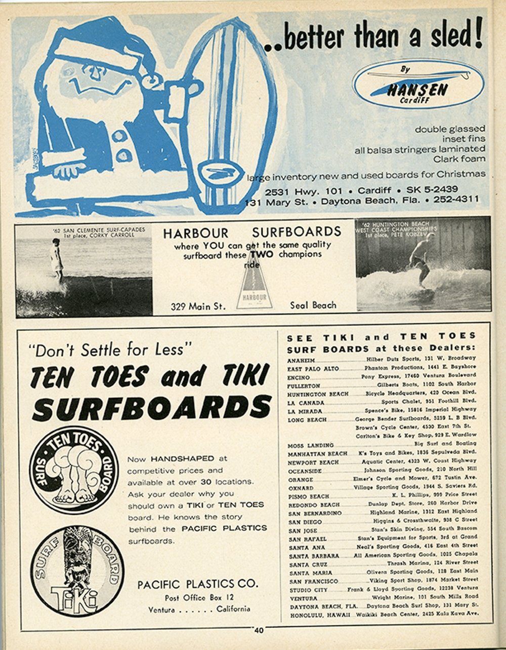 SURFER MAG 1962-63 VOL3