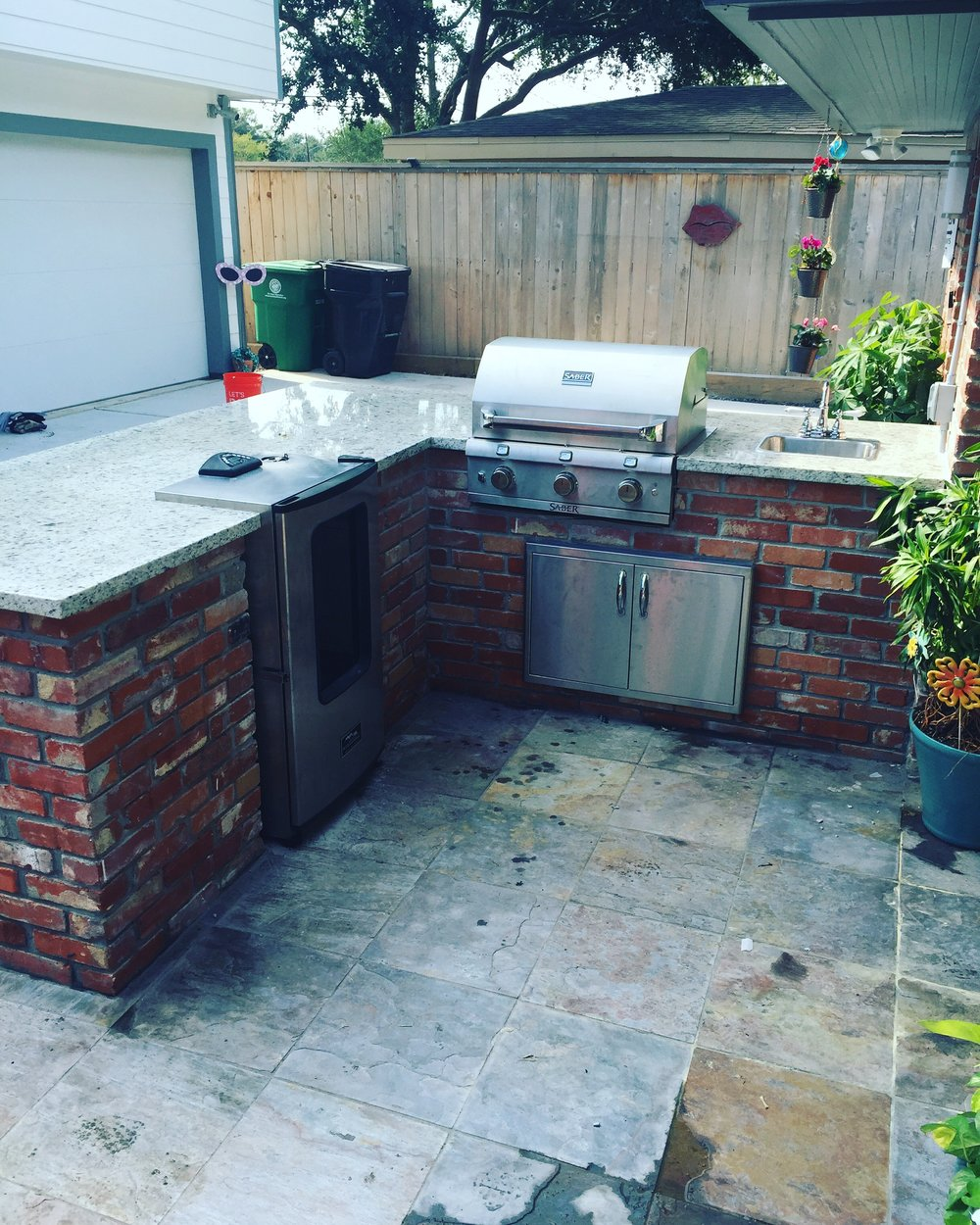 Outdoor Kitchen — Luria Construction