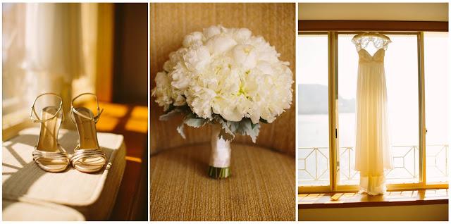 christian louboutin, bouquet, wedding dress