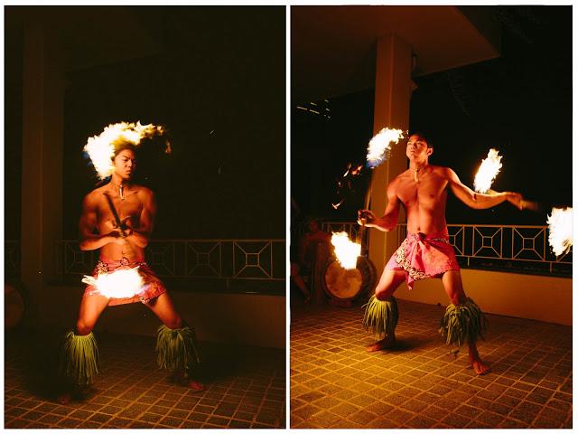 fire dancers, entertainment
