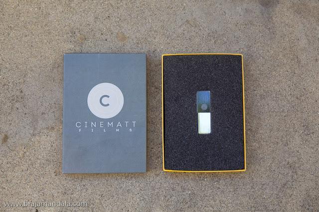 Cinematt Films USB packaging