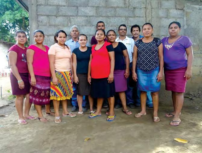 ABOVE: The staff and volunteers of Guerreros de Jesus (Jesus' Warriors) Child Development Center