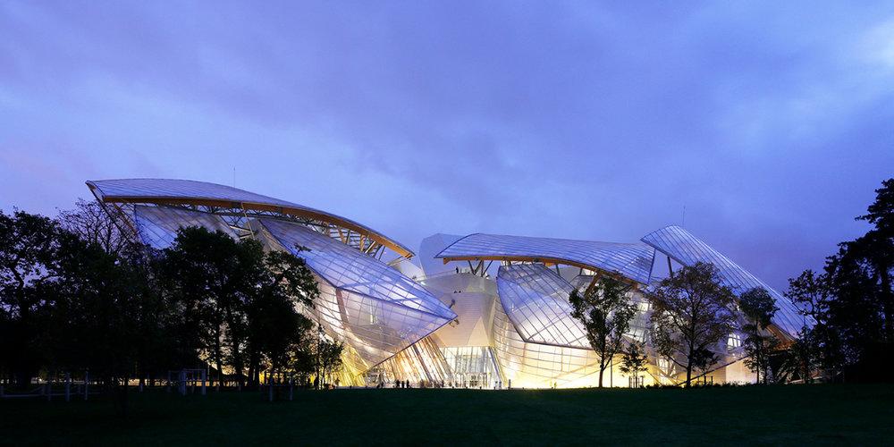 Frank Gehry - Luis Vuitton Ceremonies