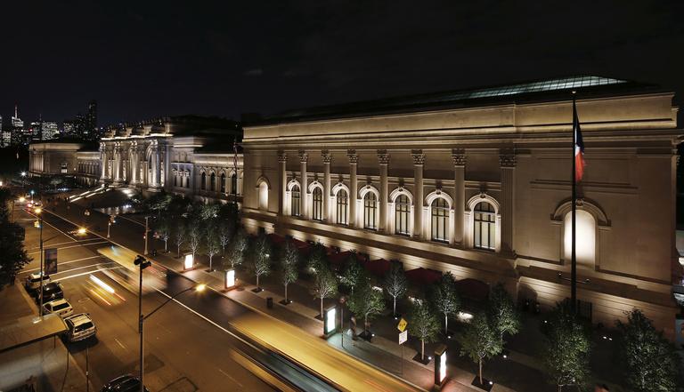 The Met - Lighting Identity