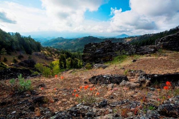 The Cascade-Siskiyou National Monument in Oregon and California is in  Secretary of the Interior Zinke's crosshairs.  Source: Bureau of Land Management