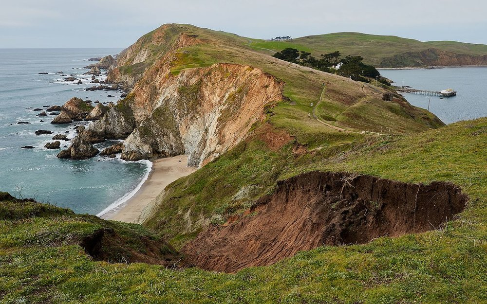 - Fig. 1. Point Reyes National Seashore in Marin County, California. Source: Wikipedia.