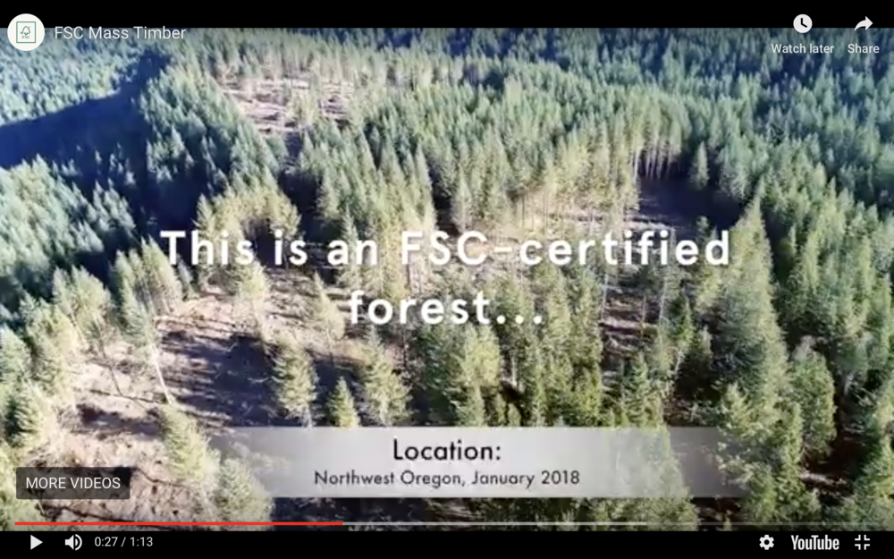 Figure 2.  However, Forest Stewardship Council certification is inappropriate for the National Forest System.  Source:  Forest Stewardship Council .