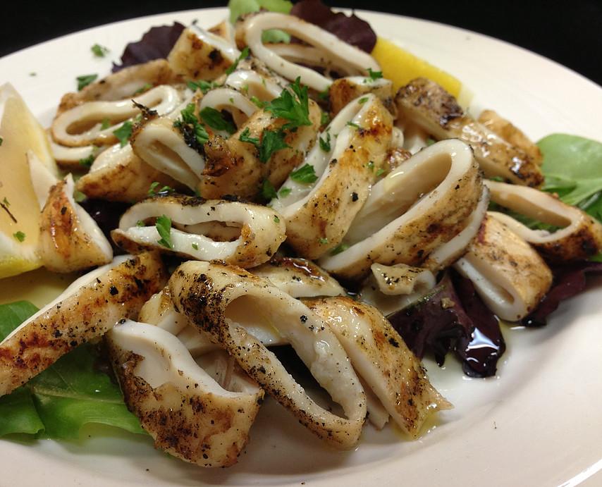 Char-Grilled Calamari