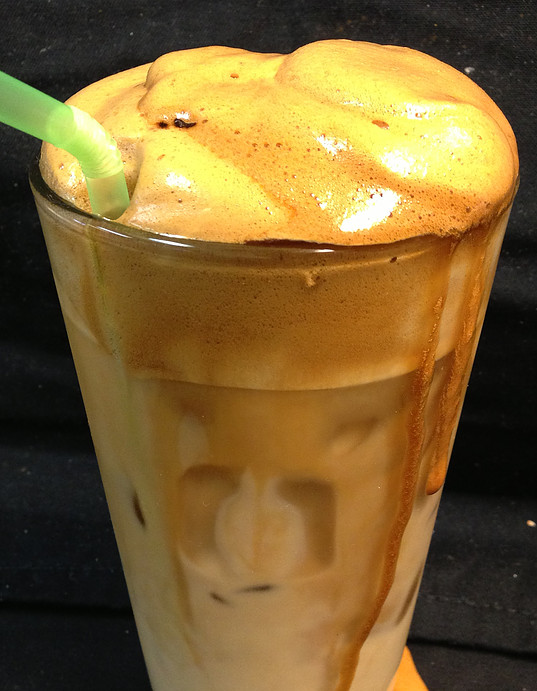 Greek Iced Coffee Frappe