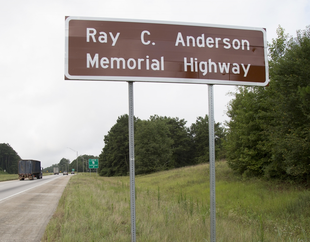 The RAY C. ANderson Memorial Highway, Interstate 85, Troup County