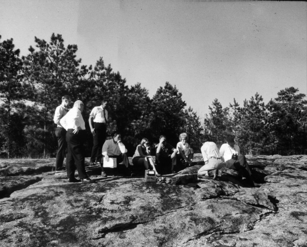 JUne 1967 Field Trip to Panola Mountain