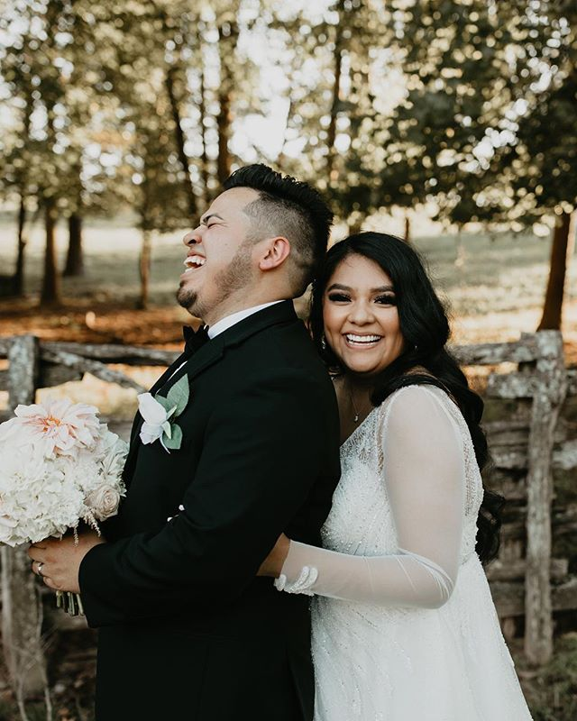 "@alexiswilliams0914 use to say my mom and I ""punctuated with laughter"" (which is pretty accurate) Nora and Gerson weren't too different and it made the day so so fun. From start to finish these two were an absolute dreams. Sweet to each other and sweet to us 💗"