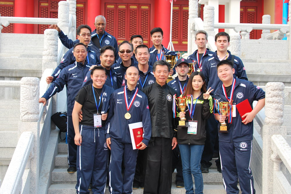 CCMAA Team USA in Foxian China