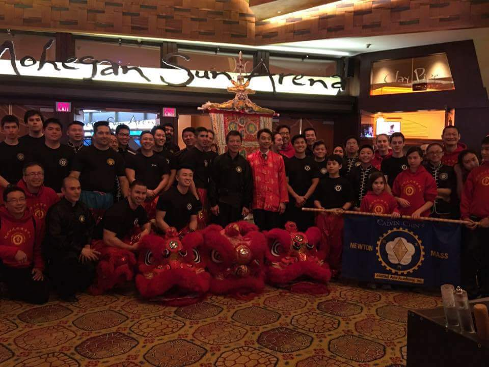 Chinese New Year Performance at Mohegan Sun Casino