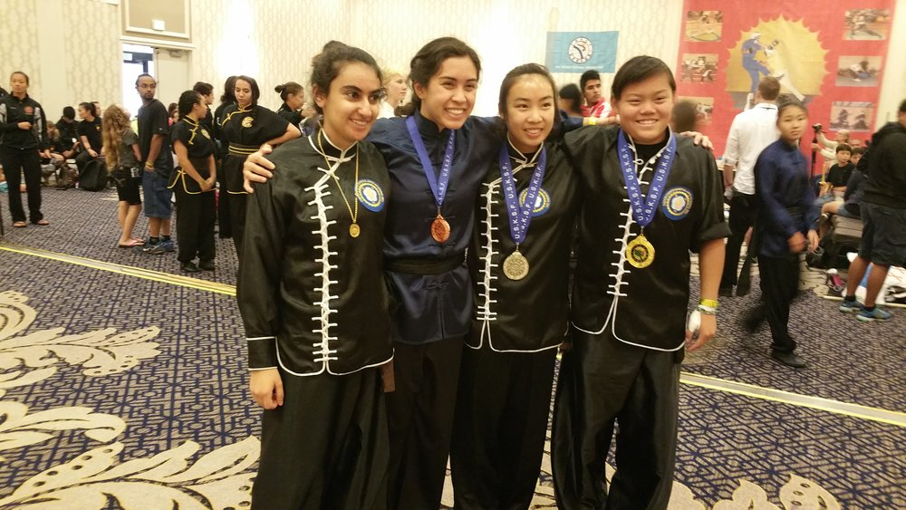 Members of CCMAA and a fellow competitor pose in Baltimore!