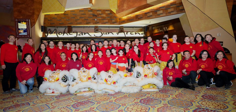 Our team performing at Mohegan Sun Casino for Lunar New Year 2019! Come join our team!