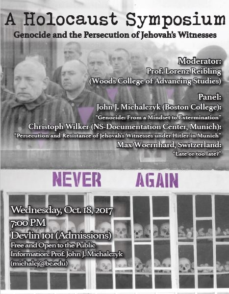 2017 A Holocaust Symposium
