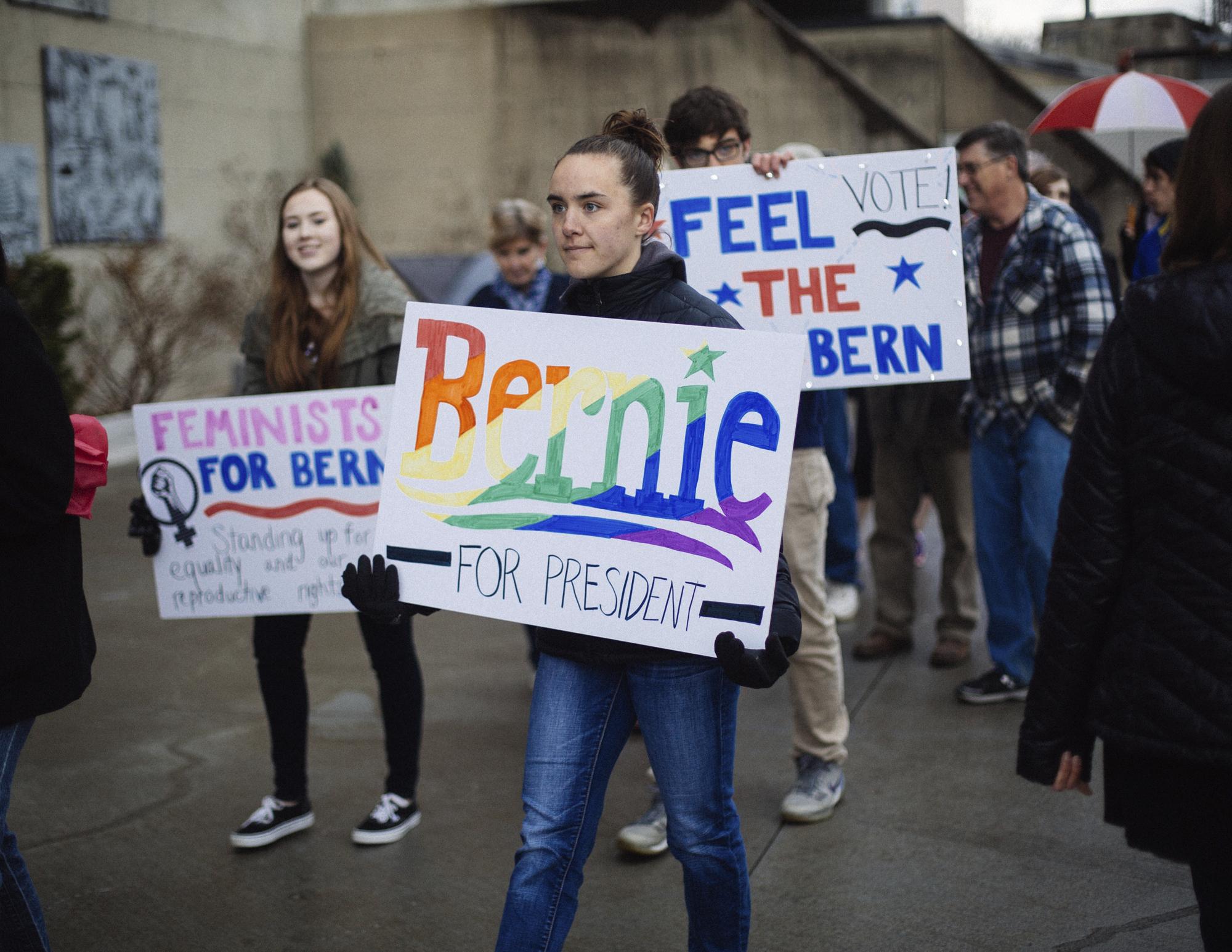 Bernie Sanders supporters