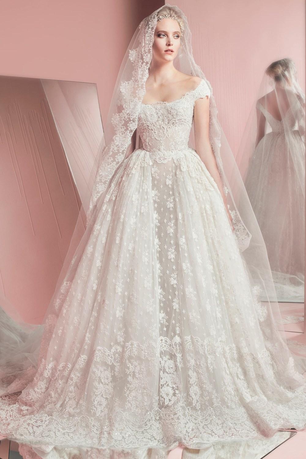 zuhair murad beach wedding dress