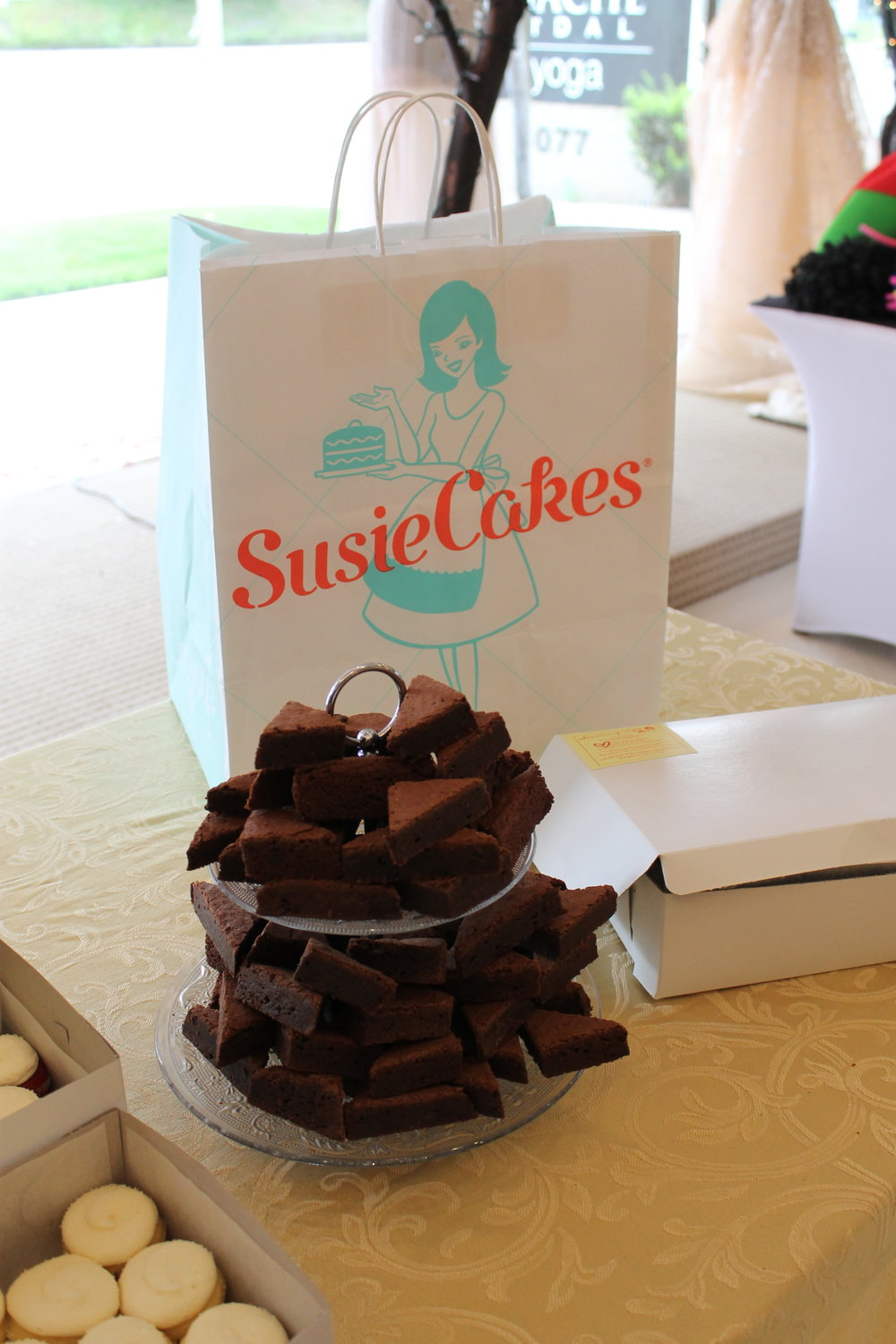 Decadent brownies and yummy cupcakes by Susie Cakes