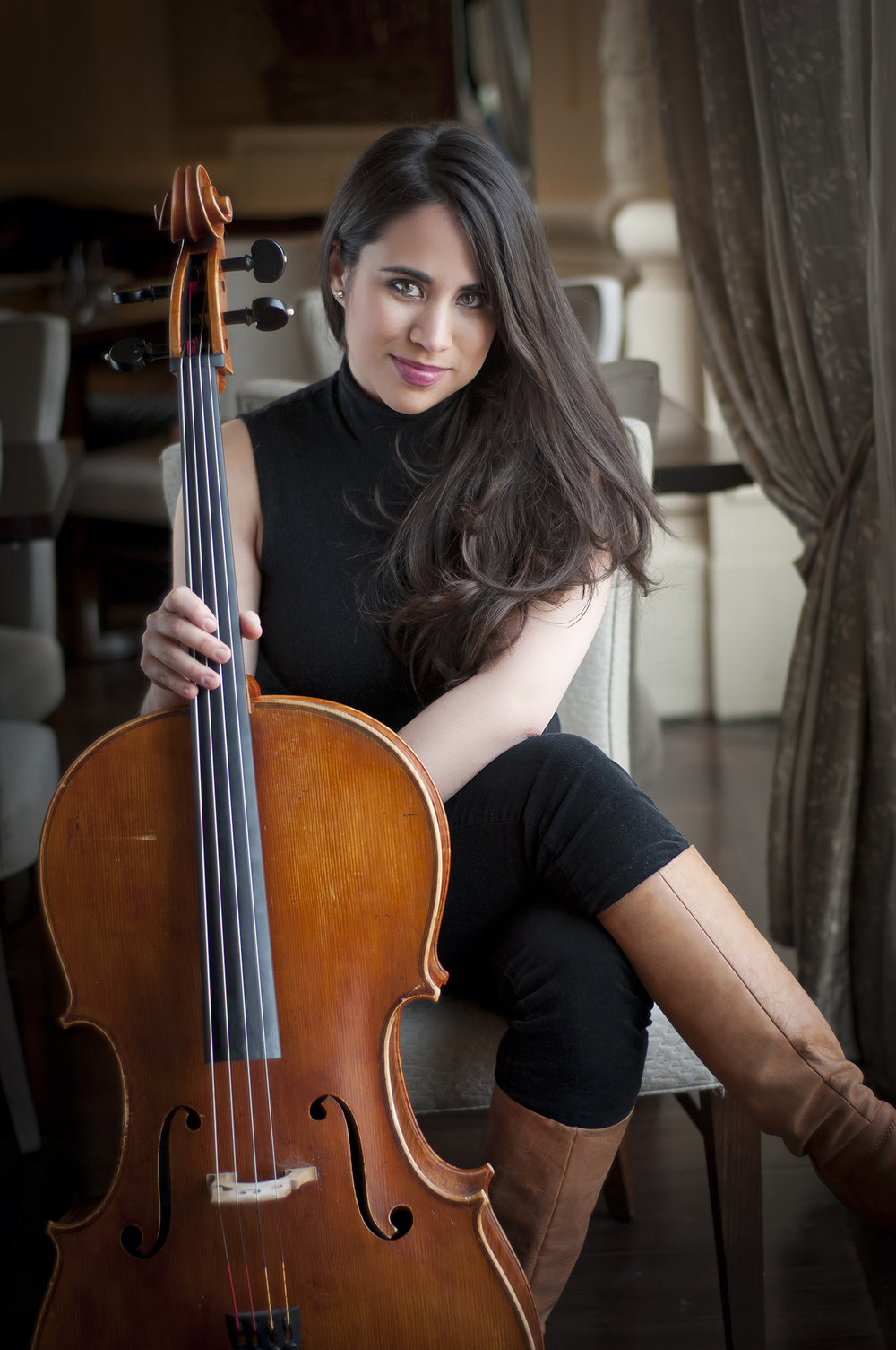christine lamprea, cello