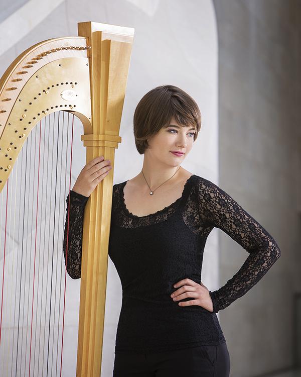 emily levin, harp