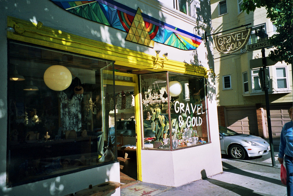 My favorite shop in San Francisco. Gravel & Gold