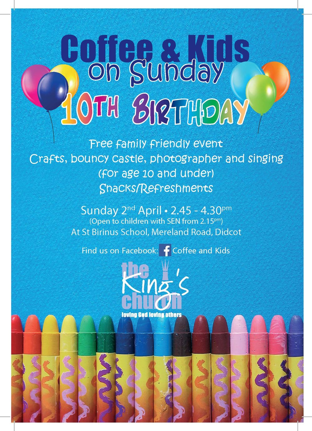 Coffee and Kids Sunday 10th birthday invite.jpg