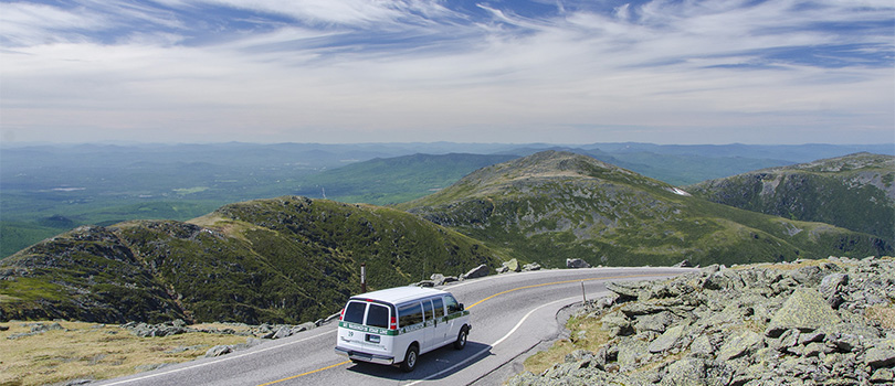 Something different to do - drive the Mt. Washington Auto Road to the top of the world