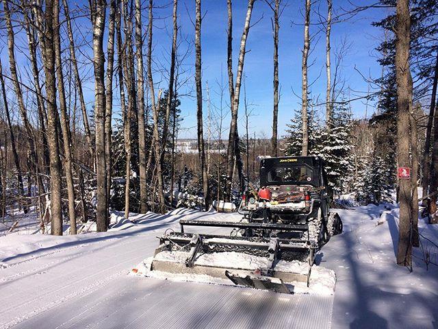 Falcon Trails Resort has 30 km of XC trails
