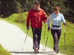 Nordic Walking burns 40% more calories!
