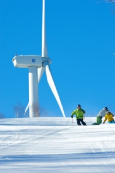 Jiminy Peak's wind turbine