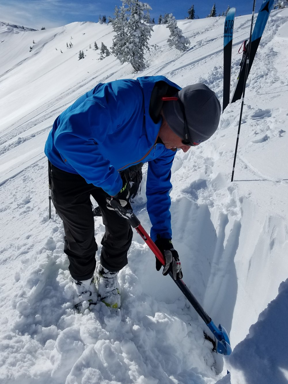 Avalanche awareness in the backcountry is important