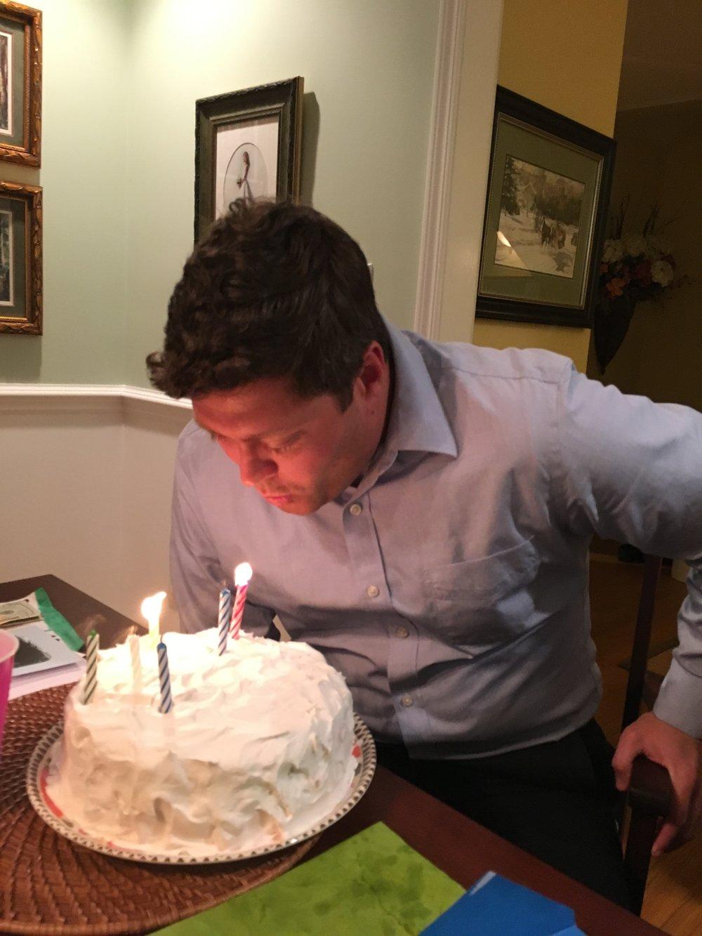 Chad's birthday
