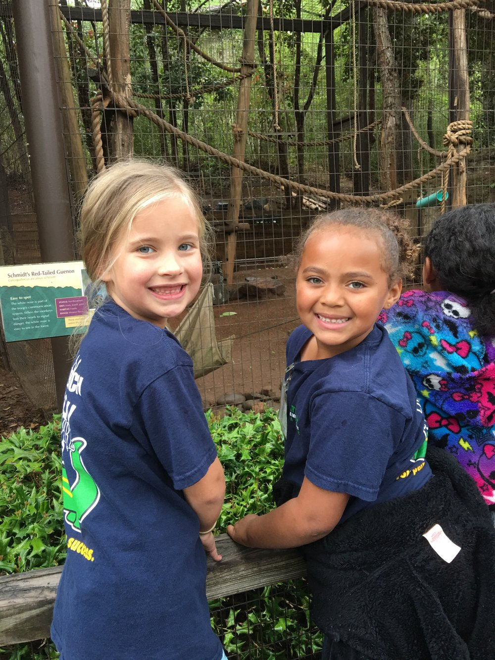 Quinn's field trip to the zoo